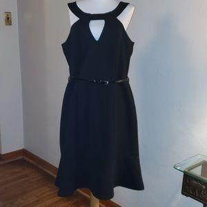 City Chic black dress.  Size 14w.